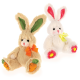 Applique Bunnies (2 Asst) 8