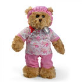 Scrubs Bear - Pink - 10