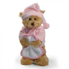 Blankie Bear - Pink - 10