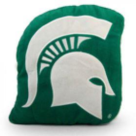 Michigan State Logo Pillow
