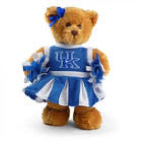 Kentucky Cheerleader Bear