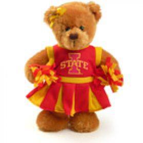 Iowa State Cheerleader Bear