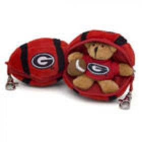 Georgia Football Keychain