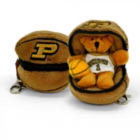 Purdue Basketball Keychain