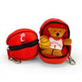 Cincinnati Basketball Keychain