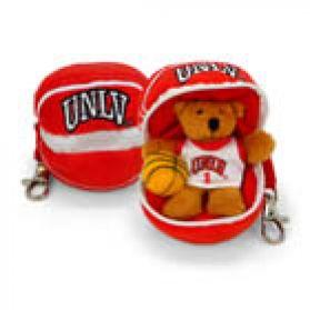 UNLV Basketball Keychain