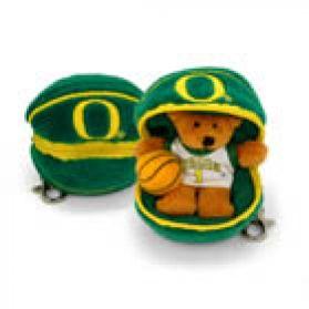 Oregon Basketball Keychain