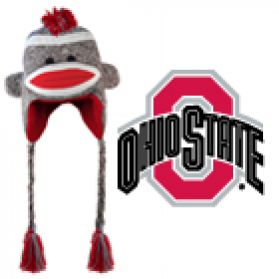 Ohio State Sock Monkey - Hat