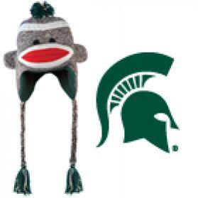 Michigan State Sock Monkey - Hat