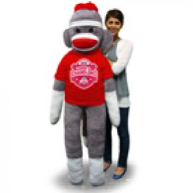 2014 Ohio State Nat'l Championship Sock Monkey 6 ft.
