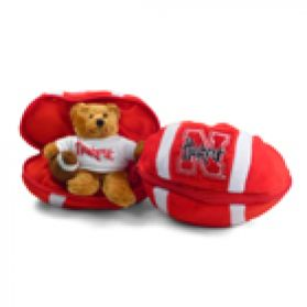 Nebraska Zipper Football