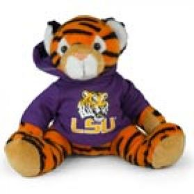 LSU Hooded Sweatshirt Tiger – 11""