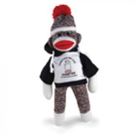 Stop Diabetes Sock Monkey