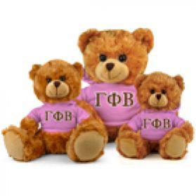 Gamma Phi Beta Hoodie Bear