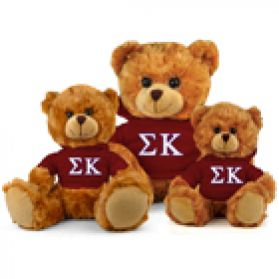 Sigma Kappa Hoodie Bear