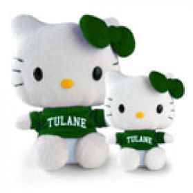 Tulane Hello Kitty