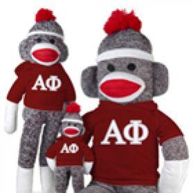 Alpha Phi Sock Monkey
