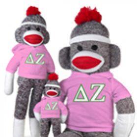 Delta Zeta Sock Monkey