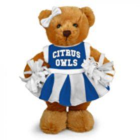 Citrus College Cheerleader Bear