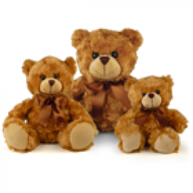 Fluffy Bear - Mocha