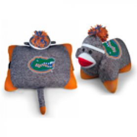 Florida Sock Monkey Pillow
