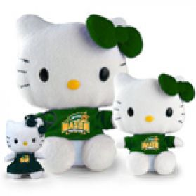 George Mason Hello Kitty