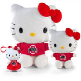 Ohio State Hello Kitty