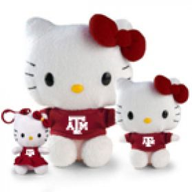 Texas A&M Hello Kitty