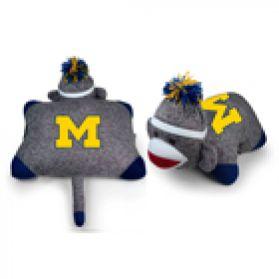 Michigan Sock Monkey Pillow