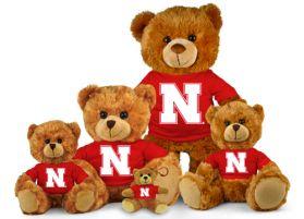 Nebraska Jersey Bear