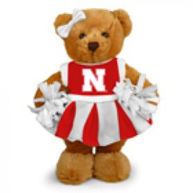 Nebraska Cheerleader Bear