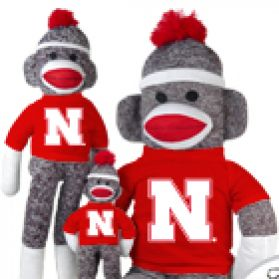 Nebraska Sock Monkey