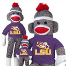 LSU Sock Monkey
