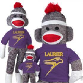 Wilfrid Laurier Sock Monkey