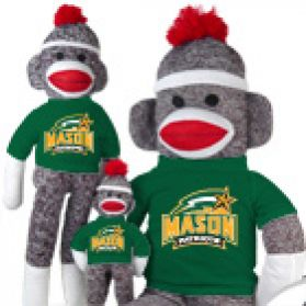 George Mason Sock Monkey