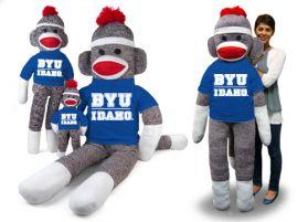 BYU Idaho Sock Monkey