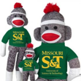 Missouri S&T Sock Monkey