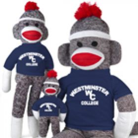 Westminster College Sock Monkey