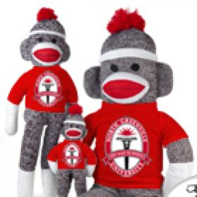 North Greenville Sock Monkey