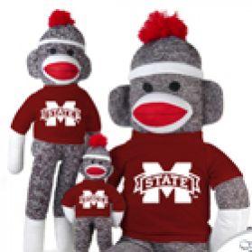 Mississippi State Sock Monkey