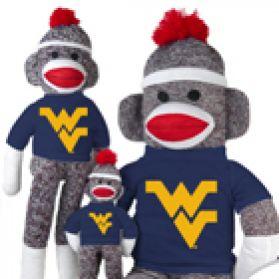 West Virginia Sock Monkey