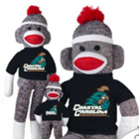 Coastal Carolina Sock Monkey