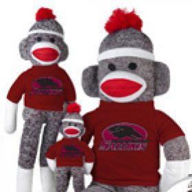 So. Illinois Sock Monkey