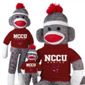 North Carolina Central Sock Monkey