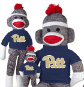Pittsburgh Sock Monkey