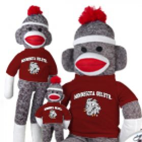 Minnesota Duluth Sock Monkey