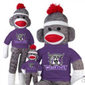 Weber State Sock Monkey