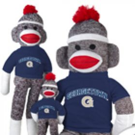Georgetown Sock Monkey