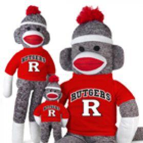 Rutgers Sock Monkey