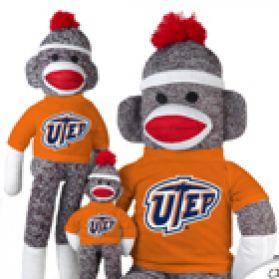 Texas El Paso Sock Monkey